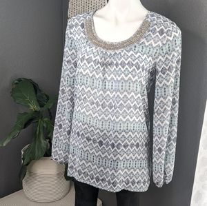 ⭐ 3 for $20 🌼 Studio Y Beaded Blouse